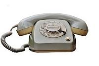 Kontaktseite Telefon